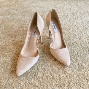 Steve Madden Suede Nude Pumps size 8